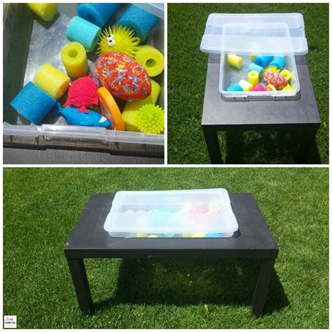 Diy Sensory Table Ikea